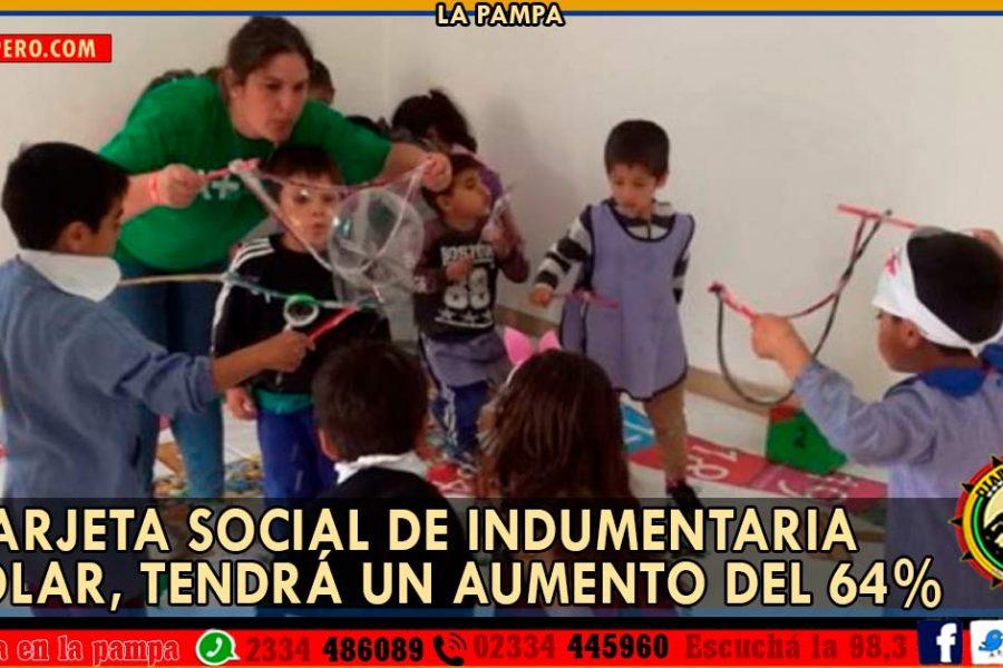 La Tarjeta Social de Indumentaria Escolar, tendrá un aumento del 64%