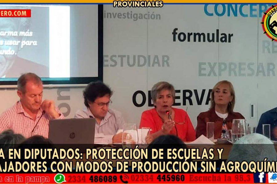 UTELPa en Diputados: protección de escuelas y trabajadores con modos de producción sin agroquímicos