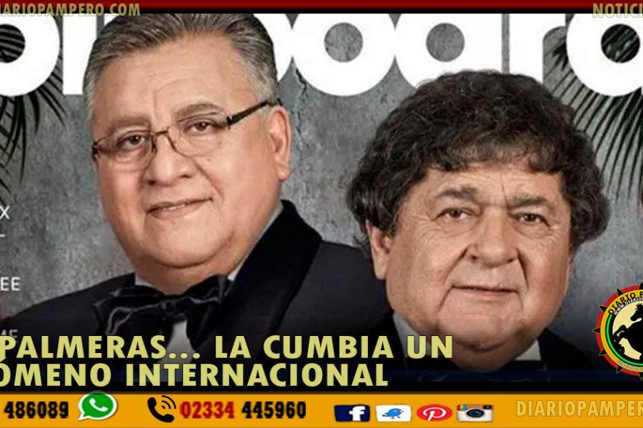 Los Palmeras, la primera banda de cumbia en la tapa de Billboard