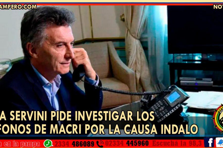 Jueza Servini pide investigar los teléfonos de Macri por la causa Indalo