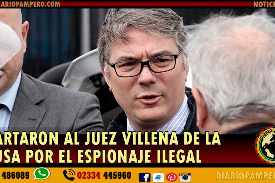 Apartaron al juez Villena de la causa por el espionaje ilegal