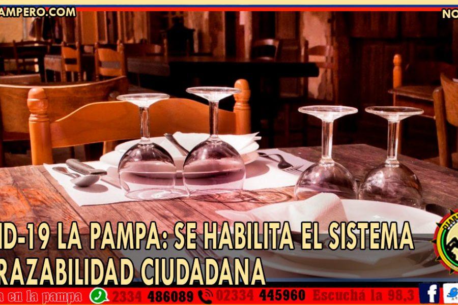 COVID-19 LA PAMPA: Se habilita el Sistema de Trazabilidad Ciudadana
