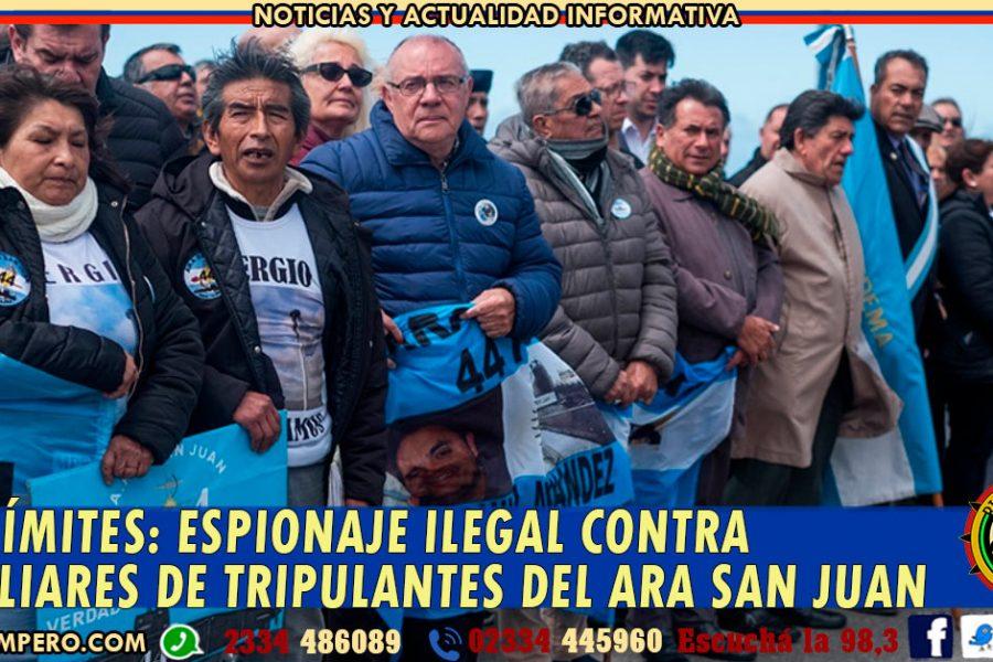 SIN LÍMITES: espionaje ilegal contra familiares de tripulantes del ARA San Juan