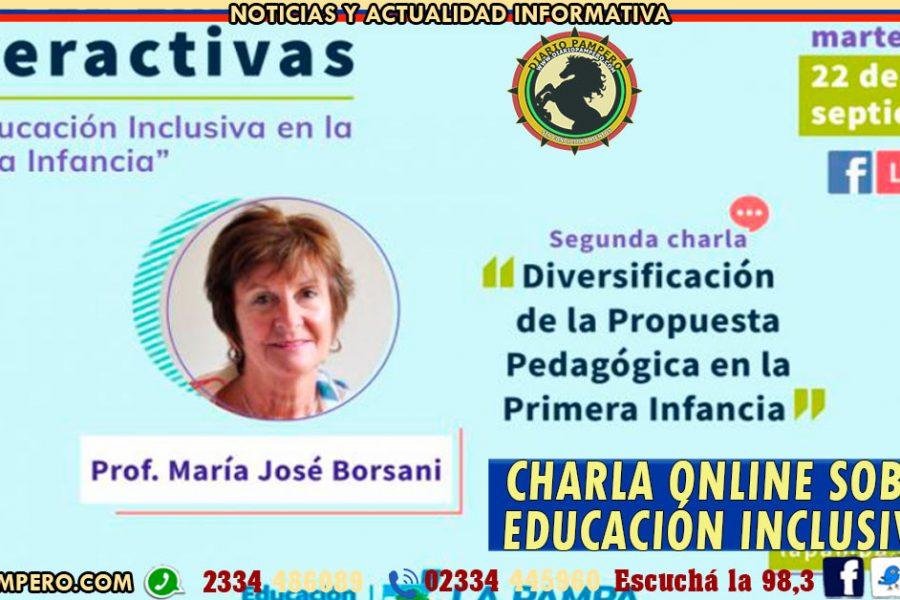 Segunda charla online sobre la educación inclusiva en la primera infancia