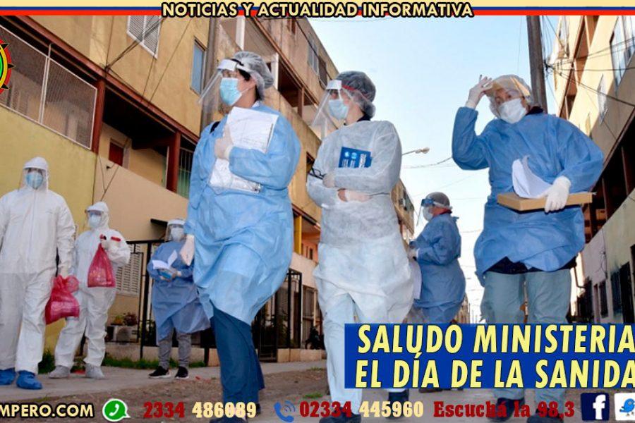 LA PAMPA: Saludo ministerial por el Día de la Sanidad