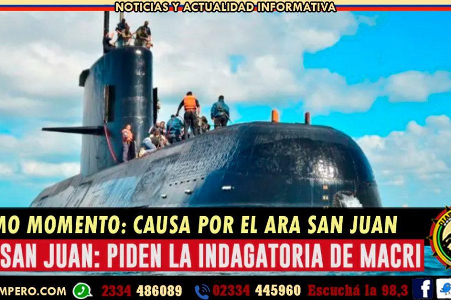 ARA San Juan: piden la indagatoria a Macri y Aguad