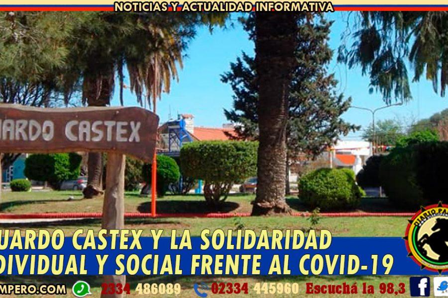 EDUARDO CASTEX y la solidaridad individual y social frente al COVID-19