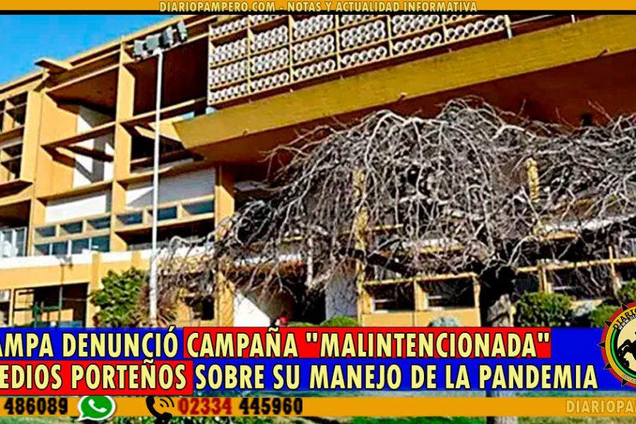La Pampa denunció campaña malintencionada de medios porteños sobre su manejo de la pandemia