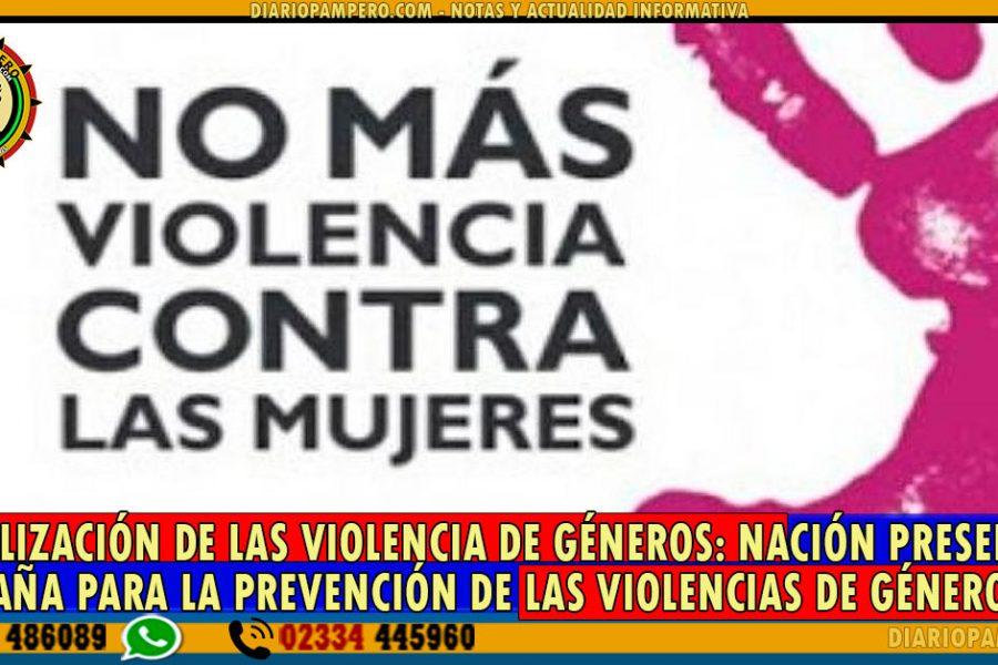 VISIBILIZACIÓN DE LAS VIOLENCIAS DE GÉNEROS: Nación presentará campaña para la prevención de las violencias de género