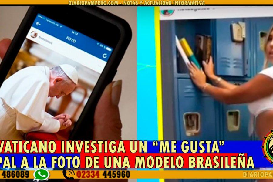 """El Vaticano investiga un """"me gusta"""" papal a la foto de una modelo brasileña"""