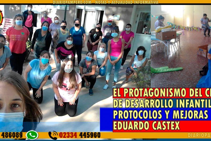Protagonismo del Centro de Desarrollo Infantil, protocolos y mejoras en Eduardo Castex