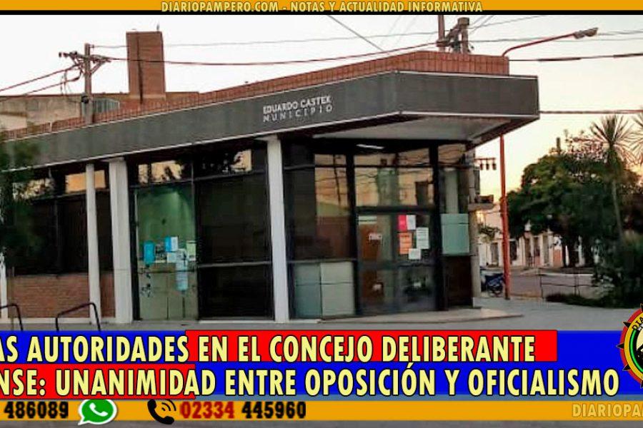 Nuevas Autoridades en el Concejo Deliberante Castense: unanimidad entre oposición y oficialismo
