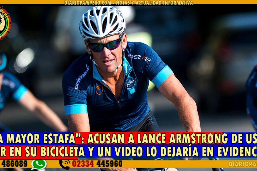 «Es la mayor estafa»: acusan a Lance Armstrong de usar un motor en su bicicleta y un video lo dejaría en evidencia