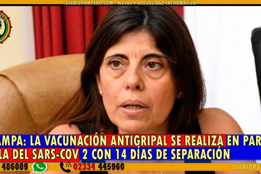 LA PAMPA: La Vacunación antigripal se realiza en paralelo con la del Sars-Cov 2 con 14 días de separación