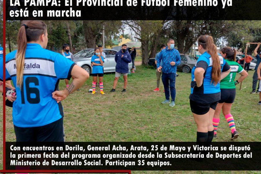 LA PAMPA: El Provincial de Fútbol Femenino ya está en marcha